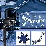 Haushalt Int. LED Licht Projektor Strahler weihnachtliches Motiv Projektion Außenbeleuchtung,...