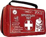 Sport Erste-Hilfe-Set | inklusive EISSPRAY | Versorgung bei Sportverletzungen | Fußball,...