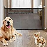 LLYWCM Magic Gate Tragbar Safety Dog Barrier Faltbar Kunststoff Hund Safe Guard Trennwand...