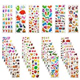 3D Aufkleber für Kinder & Kleinkinder, Leenou 950+ Geschwollen Stickers für Jungen Mädchen...