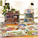 HENJIA Scrapbooking Sticker Dekorative Sticker DIY Craft Fotoalben Kofferraum Sticker 15St
