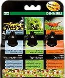 Dennerle Nano Wasserpflege | Tagesdünger, Wasseraufbereiter und Vitalstoffe (3in1 Pflegeset, 1...