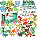 Tacobear Dinosaurier Party Mitgebsel Mini Dinosaurier Figuren Schnapparmband Dinosaurier Ei...