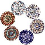 BOHORIA Premium Design Untersetzer 6er Set Dekorative Untersetzer fur Glas, Tassen, Vasen, Kerzen...