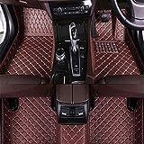 Leder Auto FußMatten Set FüR Ford Mustang 2010-2014(RHD), All-Inclusive Autoteppiche Fussmatten...