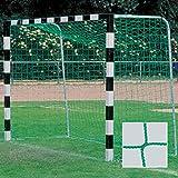Donet Handballtornetz/Kleinfeld 3,1 x 2,1 m Tiefe oben 0,80/unten 1,00 m, PP 3 mm , grn