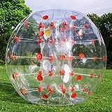 FlowerW 1.2M/4ft Durchmesser Aufblasbarer Stoßkugel Blasen Fußball sprengen Spielzeug...