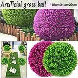 beautygoods Simulated Grass Ball Hochwertiger Kunststoff Kunstpflanze Ball für Hochzeitsdekor...