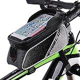 Fahrradrahmen Tasche, Betuy Wasserdicht Bike Top Tube Bag Cycling Frontrahmen Tasche Handyhalter...