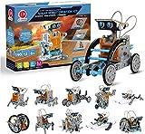 CIRO Solar Roboter Kinder Konstruktionsspielzeug ab 8 Jahre, 12-IN-1 STEM Lernspielzeug...