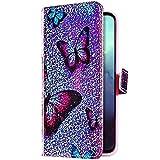 Uposao Kompatibel mit Samsung Galaxy S10e Hlle Glitzer Bling Strass Diamant Bunt Muster Handyhlle...