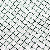 Aquagart® Teichnetz, 10m x 10m, dunkelgrün, besonders engmaschig: Maschenweite 12mm x 12mm,...