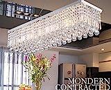 Dst Moderne Kristall Kronleuchter Lichter, Luxus K9 Kristall Trpfchen Elegante Deckenleuchten...