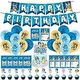 Bluey Geburtstagsparty-Zubehör, Bluey Party-Dekorationen, Geburtstagsparty-Zubehör für Bluey...