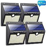 Solarlampen für Außen mit Bewegungsmelder,【Neuestes Version 97 LED-1000 Lumen】Pxwaxpy Solar...