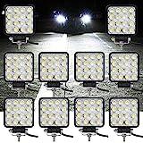 fsders VINGO® 10X 48W LED Arbeitsscheinwerfer Flutlicht Offroad Scheinwerfer kaltweiß 6500K,...