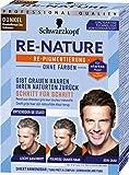Schwarzkopf Re-Nature Re-Pigmentierung, Männer Dunkel Stufe , 1er Pack ,2 x 50 ml Haarfärbemittel...