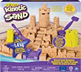 Kinetic Sand 6044143 Mega Beach Castle Set, Mehrfarbig