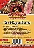 Grillschmecker Grillpellets - Holzpellets aus Kirschholz für Grill, Pelletofen & Smoker - Kirsche...