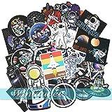 Winlauyet 50/100x Astronauten NASA Sticker Laptop Auto Kühlschrankaufkleber Kofferraum Aufkleber...