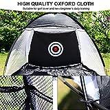 Vbestlife Golf Übungsnetz,Golf Driving Net Golfkäfig Oxford Cloth Abnehmbare Swing Hitting Praxis...