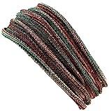 Guru-Shop Magic Hairband, Dread Wrap, Schlauchschal, Stirnband, Herren/Damen, Haarband Olive...