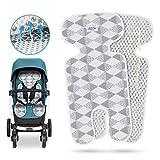 Komake Atmungsaktive Sitzeinlage, Universal Sitzauflage für Kinderwagen, Buggy, Kindersitz und...