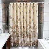 Bathroom supplies Blatt-Muster wasserdichte Verdickung Schimmel-Bad Vorhänge Hängende Vorhänge...