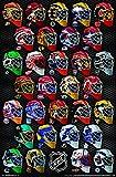 Unbekannt Trends International NHL Masks Poster - Alle 31 Torhter Masken Poster RP16292