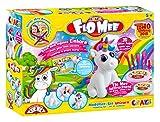 CRAZE FLO MEE Lufttrocknende flauschige Kinder-Knete Modellier-Set Unicorn Einhorn Knetmasse auf...