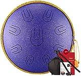 2020 Ethereal Drum Steel Tongue Drum 35,6 cm Percussion Tamburin, C-Ton 14 Töne ist geeignet für...