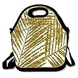Personalisierbare isolierte Lunch-Tasche, wiederverwendbar, wasserdicht, für Schule, Picknick,...