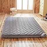 MSM Tatami Essen,atmungsaktiv Futon Matratze Faltbare Couch Gästebett Japanisch Futon Schlafen...