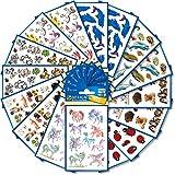 AVERY Zweckform 461 Sticker für Kinder (Aufkleber Kinder, Tiere, Kindersticker, Einhorn, Hunde,...