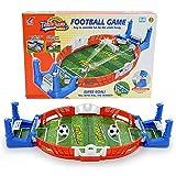 LQKYWNA Mini-Tischfußballspiel, Innen 2-Spieler-Party-Tischkicker-Spielzeug-Geschenk für Kinder...