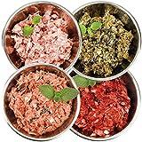 Barf-Snack Sparpaket für empfindliche Tiere 28kg x 1000g mit Rind, Fisch, Ente & Blättermagen,...