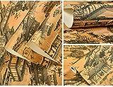 nobrand Im chinesischen Stil Klassische Tapeten im chinesischen Stil Tapete Studie Teahouse Hotel...