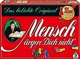 Schmidt Spiele 49021 Mensch ärgere Dich Nicht, Standardausgabe, Würfelspiel, Bunt