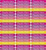 INDIGOS UG® 270 Namensaufkleber Etiketten Mini - 40x6mm - für Kinder, Schule und Kindergarten -...