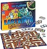 Ravensburger 26687 - Labyrinth Glow in the dark - Familienklassiker mit Leuchtfarbe, Spiel für...