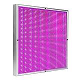 200W Quadratisches Pflanzenlicht, Eingebautes Kühlsystem Hocheffizientes Energiesparendes Und...