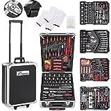 TRESKO® Werkzeugkoffer 949 teilig | Werkzeugkasten | Werkzeugkiste | Werkzeugtasche | Werkzeug Set...