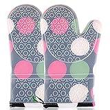 GYM Küche Dampfer Silikontuch Handschuhe verdickte Antiverbrühschutz Ofenhandschuhe Hochtemperatur...