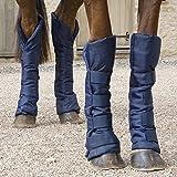 Shires Reiseschuhe für Pferde, 4 Stück, Marineblau