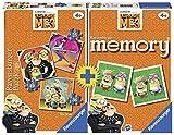 RavensburgerMultipack Memory + 3Puzzles, icheinfach unverbesserlich, (21309)