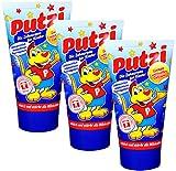 3er Pack Putzi Die Zahncreme für Kinder (3 x 50 ml) Kinderzahncreme, Kinderzahnpasta, Zahnpflege,...