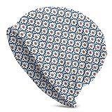 Beanie Strickmützen Für Unisex Daily Knit Hedging Cap-Weiche Stilvolle Toboggan Skull Caps...