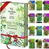 Züchte deine eigenen Kräuter - 12 Kräutersorten, 8700 Kräutersamen - Kräuterpflanzenset für...