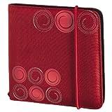Hama Fashion Nylontasche (geeignet für CD-/DVD) rot