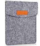 ProCase 6-Zoll-Hülsen-Koffer-Tasche, Tragbarer Filz Tragebeutel Schutzhülle für 5-6'Zoll Tablette...